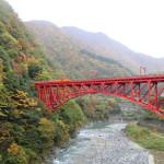 北陸キャンプ – 3日目 – 黒部峡谷、称名滝(2015/11/2)