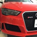 Audi RS3試乗