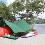 青木湖SUPキャンプ – 2016/7/15-17(1日目)
